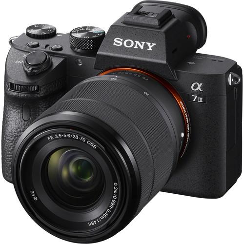 Sony Alpha A7 III kit 28-70mm с русским меню