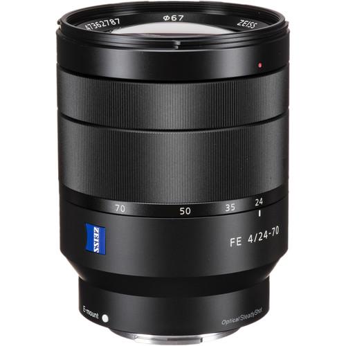 Sony Carl Zeiss Vario-Tessar T* 24-70mm f/4 ZA OSS