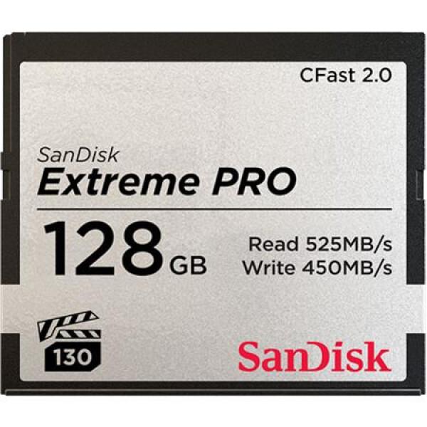 SanDisk Extreme PRO 128GB CFast 2.0